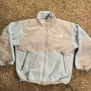 Kids Baby blue fleece THE NORTH FACE Denali Jacket
